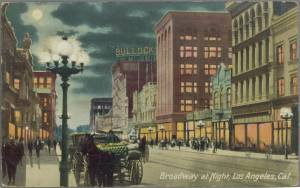 A view of Bullock's 1909