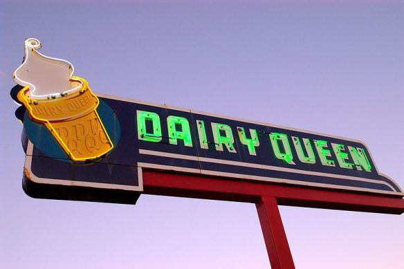 Dairy Queen sign