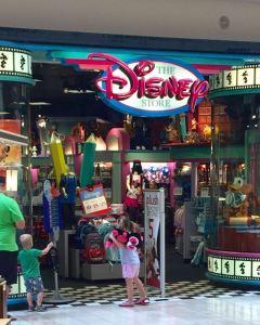 Disney storefront
