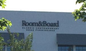Rooom & Board sign
