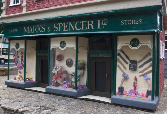 Marks & Spencer Bekonscot by Michael Maggs from WikiCommons