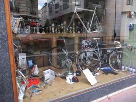 New bicycles and old trophies