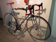 Alex Singer Bicycle at Made in Paris Exhibit