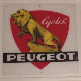 Old Peugeot sign
