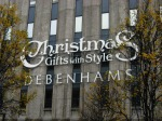 DEBENHAMS AT CHRISTMAS