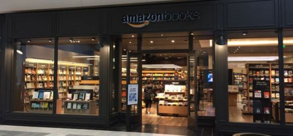 Amazon Washington Square storefront