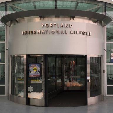 PDX Entrance