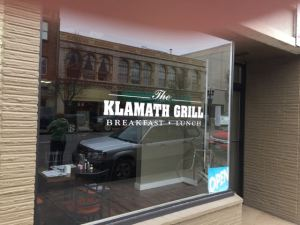 Klamath Grill (highly recommended for breakfast or lunch)