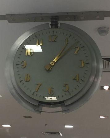Macy's historic clock